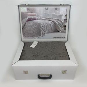 купить Покрывало-простынь махровое Maison Dor SANDA GREY Серый фото