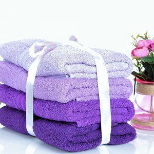 купить Набор полотенец RAINBOW Lila 4шт