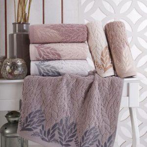 купить Набор махровых полотенец Sikel жаккард Melenema 50x90 6 шт