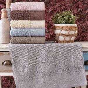 купить Набор махровых полотенец Sikel жаккард Albedo 50x90 6 шт
