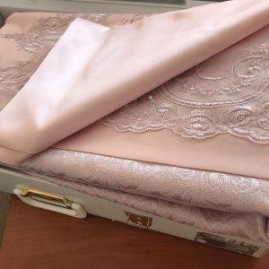 купить Покрывало с наволочками Kubra Class полиэстер Marie розовый