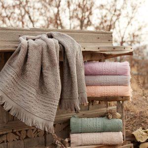 купить Набор махровых полотенец Sikel Bamboo Alacati 70x140 6 шт
