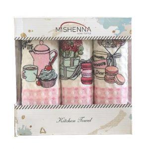 купить Набор кухонных полотенец Nilteks Qalite Sweets 35x50 3 шт