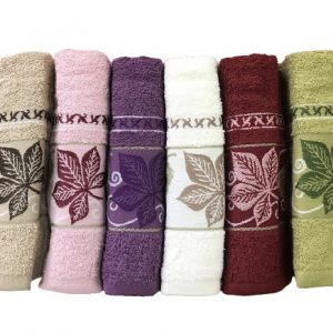 купить Набор махровых полотенец Purry Cotton Cinar 70x140 6 шт