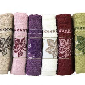 купить Набор махровых полотенец Purry Cotton Cinar 50x90 6 шт
