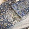 купить Постельное белье TAC сатин Digital Monza V01 mavi Синий фото 110485