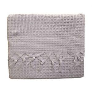 купить Вафельное покрывало-простынь Пике La Rita вафельная 220x240 лиловый