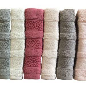 купить Набор махровых полотенец Miss Cotton хлопок Trio 50x90 6 шт