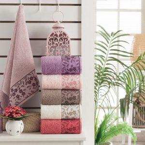купить Набор махровых полотенец Purry Cotton Sarmasik 50x90 6 шт