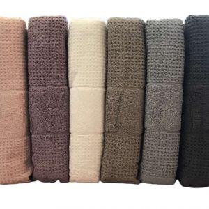 купить Набор махровых полотенец Mercan Cotton жаккард Jumbo 70x140 6 шт