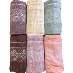 купить Набор махровых полотенец Gulcan Cotton Petra 50x90 6 шт