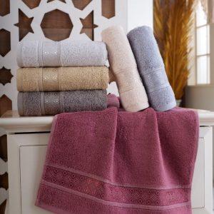 купить Набор махровых полотенец Sikel Bamboo Pirlanta 30x50 6 шт