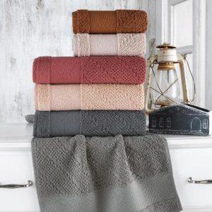 купить Набор махровых полотенец Sikel жаккард Bruska 70x140 6 шт