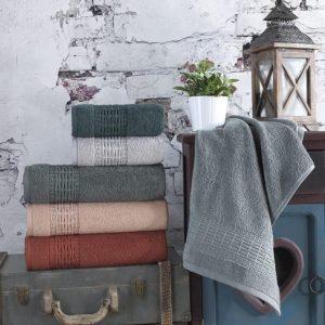 купить Набор махровых полотенец Sikel жаккард Imperial 50x90 6 шт