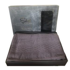 купить Махровая простынь-покрывало Пике Sikel cotton Imperial 200x220 фиолетовый