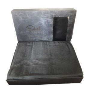 купить Махровая простынь-покрывало Пике Sikel cotton Imperial 200x220 зеленый
