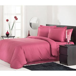 купить Постельное белье Ozdilek страйп-сатин Line pink Розовый фото