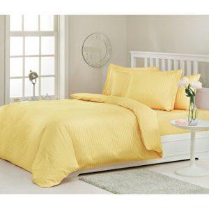 купить Постельное белье Ozdilek страйп-сатин Line желтый Желтый фото
