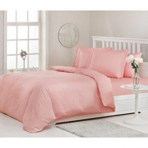 купить Постельное белье Ozdilek страйп-сатин Line розовый Розовый фото