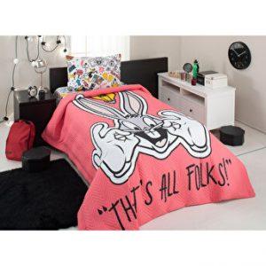 купить Детское постельное белье Bugs Bunny с пике Ozdilek Красный фото
