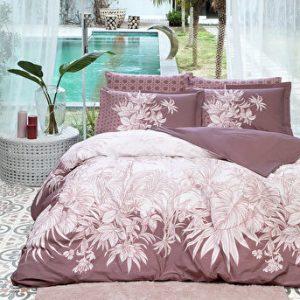 купить Постельное белье Ozdilek ранфорс Botanical  пудровый Розовый фото