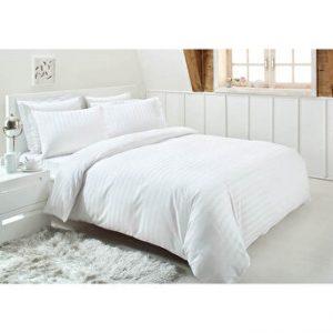 купить Постельное белье Ozdilek страйп-сатин Line белый Белый фото