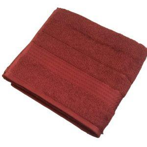 купить Махровое полотенце Ozdilek Trendy bordo 50x90 Бордовый фото