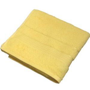 купить Махровое полотенце Ozdilek Trendy sari 50*90 желтый Желтый фото