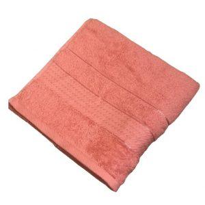 купить Махровое полотенце Ozdilek Trendy mercan 50x90 коралловый Розовый фото