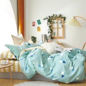 купить Постельное белье Bella Villa Сатин B-0300 Голубой фото