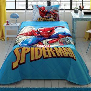 купить Детское покрывало с наволочкой TAC Spiderman Classic