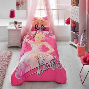 купить Детское покрывало с наволочкой TAC Disney Barbie Balerina