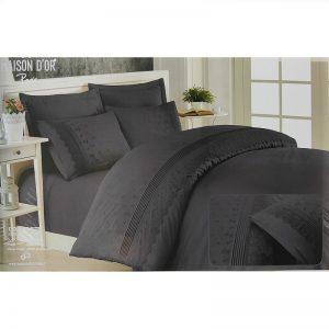 купить Постельное белье Maison Dor JNDILA SIMONE ANTRASIT Черный фото