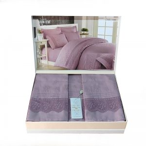 купить Постельное белье Maison Dor JNDILA SIMONE LILAC Лиловый фото