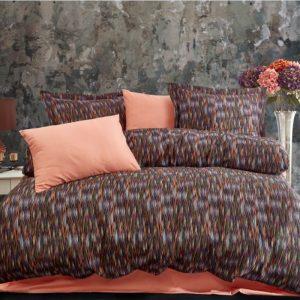 купить Постельное белье премиум cатин Dantela MERRY ORANGE Оранжевый фото