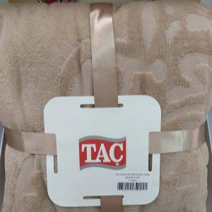 купить Махровое покрывало-простынь TAC Dama Cappucino 200×220