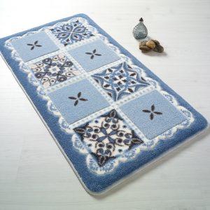 купить Коврик для ванной Confetti Ceramic Blue Mavi