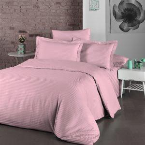 купить Постельное белье LIGHTHOUSE Exclusive Sateen STRIPE LUX пудра Розовый фото
