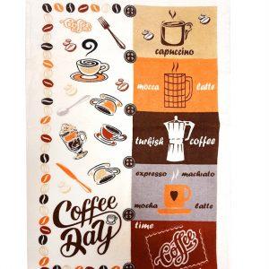 купить Кухонное полотенце махр coffee day 40*60