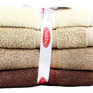купить Набор полотенец в ванную RAINBOW Kahve 4шт
