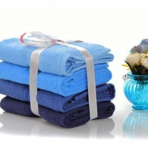 купить Набор полотенец в ванную RAINBOW Mavi 4шт
