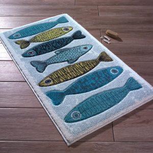 купить Коврик для ванной Confetti Fishy Mavi
