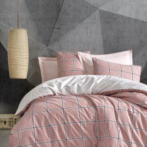 купить Постельное белье Cotton Box Minimal Ronny Pembe Розовый фото