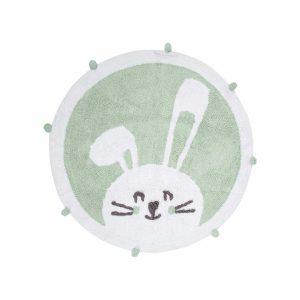 купить Коврик в детскую комнату Irya Bunny mint 110*110