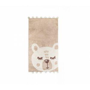купить Коврик в детскую комнату Irya Teddy krem 80*150