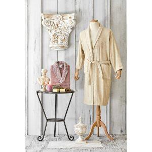 купить Набор халат с полотенцем Karaca Home Valeria G.kurusu 2020-2