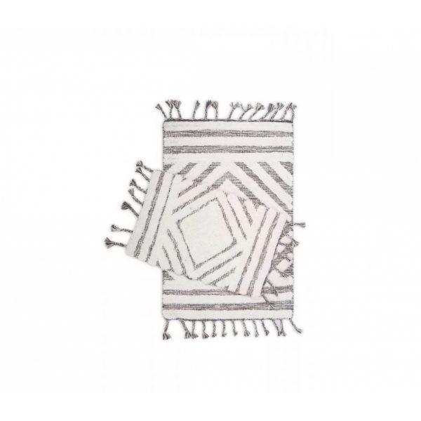 купить Набор ковриков Irya Hoover siyah-ekru 60*90|40*60