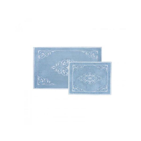 купить Набор ковриков Karaca Home Milly mavi 60*100 50*60