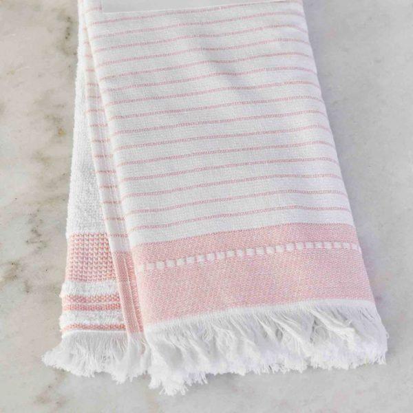 купить Набор кухонных полотенец Karaca Home Alina pudra 60*40 2шт