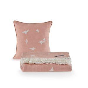 купить Покрывало пике с подушками Penelope Bird